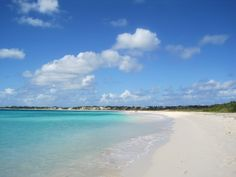 White sand beach of Anguilla. Cruise Port, White Sand Beach, Travel Agency, Carpe Diem, Disney Vacations, Places To Travel, Tours, Water, Blue
