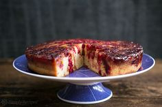 Cranberry Upside Down Cake on Simply Recipes