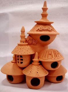 .pottery houses