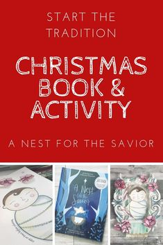 Make Christmas about Christ again with this fun children's book and craft. The nest for the Savior tradition is a great Christmas gift and Advent calendar experience.