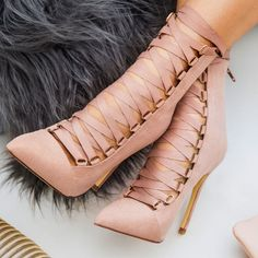 Ribbon Lace ups-Pinterest: Hamza│₪ The Land of Joy