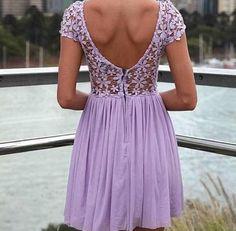 Lavender Summer Dress