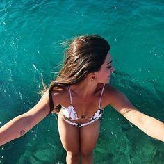 Quando o mar parece uma piscina
