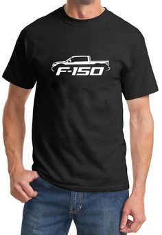 2009-14 Ford F150 Pickup Truck Classic Outline Design TshirtXL black. PLEASE BEWARE. Shirt and Car Art are EXCLUSIVE property of MADDMAX Car Art. Our shirt prices start at $20.00. If you see a lower price and do not see sold and shipped from Maddmax Illustration and Car Art above, it is a counterfeit and cheap overseas imitation. Unisex Sizing. Machine Washable. Officially Licensed Ford Motor Co product. Proudly Made in the USA.