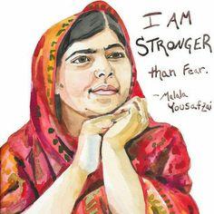 Con questa citazione di #malalayousafzai (foto via lockscreensbaby.tumblr.com) vi raccontiamo la storia di Rita Sverdigliozzi, una coraggiosa poliziotta incinta che ha fermato e fatto arrestare il suo aggressore armato di trapano.