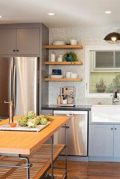 Industrial Kitchen by Regan Baker Design