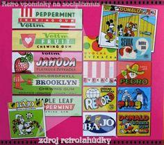 Buble Gum, Chewing Gum, Retro Christmas, My Childhood, Peppermint, Memories, Socialism, Sculpture, Vintage