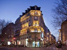 300 metres from the Arc de Triomphe and the Champs-Elysees,
