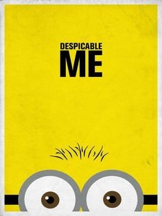 Minimalist Disney Posters - These Clean-Cut Disney Posters are Effective Despite Their Simplicity (GALLERY)