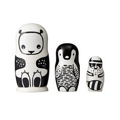 Look what I found at UncommonGoods: animal nesting dolls... for $38 #uncommongoods