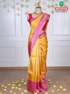 The vibrant hues of these Samudrika silk sarees with contrast zari and the distinct patterns of motifs in the body of the saree with the glorious gold silk make it magnificent. #ethnicsarees #traditionalsaree #silksaree #puresilk #saree #traditionalsaree #sareedesigns #sareestyles #weddingsaree #sareeaesthetics #sareelooks #samudrikasarees #traditionalsarees #handloomsaree #pattusaree #bridalsaree #samudrikasilksaree #samudrikasilk #sareedraping #sareeembroidery #simplesarees #puresilksaree