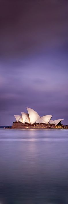 Sydney Opera House - architect Utzorn originally planned roof segments based on logarithmic curves but due to cost opted for concentric shells Sydney Australia, Australia Travel, Aussie Australia, Australia House, Victoria Australia, Great Places, Places To See, Beautiful Places, Sydney Opera