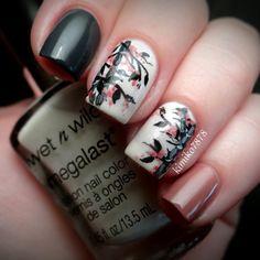 nail art - wet n wild: Asian Inspired Nails Nail Designs Spring, Nail Art Designs, Fancy Nails, Pretty Nails, Asian Nails, Manicure E Pedicure, Manicure Ideas, Hot Nails, Nailart