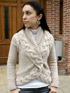 Joji Opposite Pole Sweater Pattern at Dream Weaver Yarns LLC