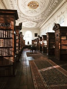 "kuanios: """"Upper Library, The Queen's College, Oxford. "" """