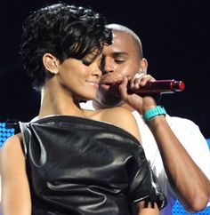 Ok. Do we all know the Chris Brown and Rihanna story? Here it is: Chris Brown and Rihanna had a serious relationship. Chris Brown beat Rihanna. Rihanna came out in the public eye with this knowledge. Chris Brown was found guilty for beating Rihanna. She vowed to never be with an abusive man again. Girl power. They are now back together.