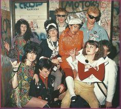 Alice Bag, center, LA Late 70's