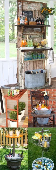 DIY Outdoor Bar Ideas That Will Beautify Your