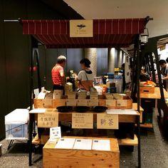 The Tea Crane is waiting for you at Umekiki Marche in Umeda.  #market #osaka #tea #organic #greentea