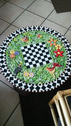 my take on the game table ungrouted