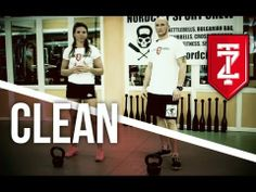 Clean - Trening funkcjonalny - Techniki Kettlebells:odc 3