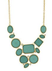 Turquoise Jewel Statement Necklace