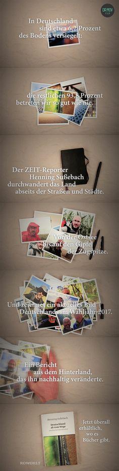 """Promotionvideo für das Buch """"Deutschland ab vom Wege"""" von Henning Sußebach. Erschienen im Rowohlt Verlag."""