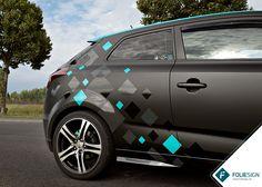 Fahrzeugfolierung • KIA cee'd [by FOLIESIGN • www.foliesign.de] #CarWrapping #KIA