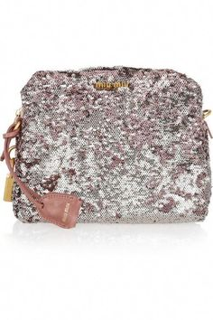 Miu Miu two-toned sequin clutch. Clutches and Evening Bags 3dc2c6fece1ce