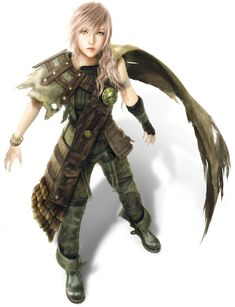 Lightning Returns Final Fantasy XIII - Shadow's Dust outfit