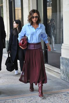Image result for victoria beckham winter style