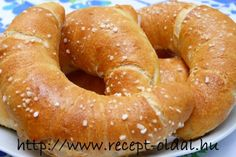 Diabetic Recipes, Diet Recipes, Croissant, Bagel, Food And Drink, Sweets, Baking, Breakfast, Diet