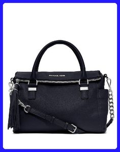 8ab0371e9038 Michael Kors Handbag, Weston Medium Satchel (Navy) - Top handle bags (*