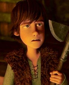 Hiccup. His face haha. I don't even know where to begin...