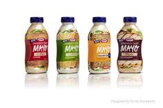 Kraft  Mayo Sandwich Shop Packaging Design by Turner Duckworth