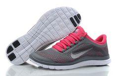 Nike Free 3.0 V5 Womens Pink Light Grey - Freen Run