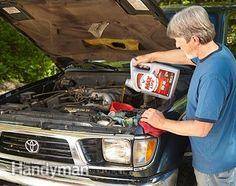 What Does Motor Oil Do? What does high-mileage synthetic motor oil do? It helps older engines run cleaner. Read more: http://www.familyhandyman.com/automotive/diy-oil-change/what-does-motor-oil-do/view-all