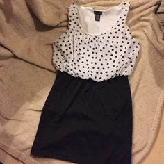 Tight dress Bottom is tight with a loose blouse type top never worn please make offers Wet Seal Dresses Mini