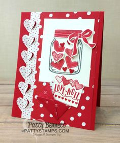 Darling Sending Love Valentine Card Ideas
