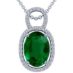 Platinum Oval Cut Emerald And Round Diamond Pendant  Steelasophical Wedding Ideas  Caribbean Wedding Day Steel Band  www.steelband.co.uk  07540 307890