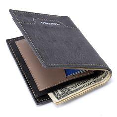 New 2017 Mens Wallet Purses Fashion Mens Wallets Carteira Masculina Billeteras Porte Monnaie Monedero Brand Male Wallets