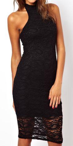 Women's fashion | Elegant black dress