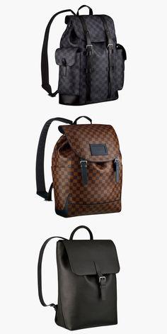 Louis Vuitton lança nova coleção de mochilas masculinas de luxo