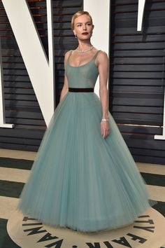 Kate Bosworth in J. Mendel attends the Vanity Fair Oscars Afterparty 2017
