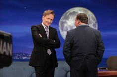 Conan And Andy Have A Moment Between Acts