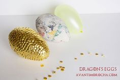 DIY Game of Thrones _ Dragon's Eggs – AvantiMorocha Blog