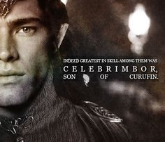 """Celebrimbor [Tyelperinquar - """"Silver-fist""""] : last of the House of Fëanor, lord of the elves of Ost-in-Edhil in Eregion, the head of the Gwaith-i-Mírdain, a guild of elven craftsmen and friend of the Dwarves of Khazad-dûm."""