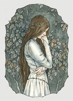 Parting is always sad. Illustration by Liga Klavina. http://liga-marta.deviantart.com/