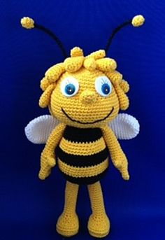 Ravelry: Maya de Bij / Maya the Bee pattern by Anita van Ee