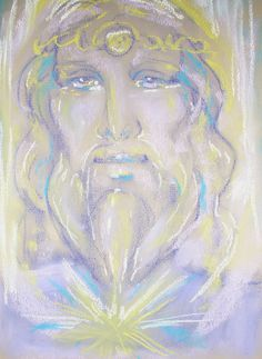 Spirit Guide. Spirit Art portrait Spirited Art, Spirit Guides, Angels, Portrait, Painting, Eggs, Ideas, Headshot Photography, Angel